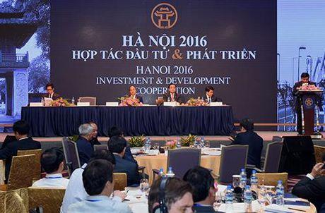 Ngay 25-6: Ha Noi to chuc hoi nghi 'Ha Noi 2017 - Hop tac Dau tu va Phat trien' - Anh 1