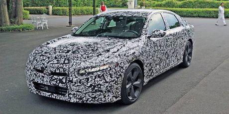 Honda Accord the he thu 10 chot ra mat vao thang 7/2017 - Anh 2