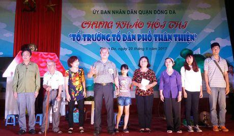 Quan Dong Da to chuc hoi thi 'To truong dan pho than thien' - Anh 1