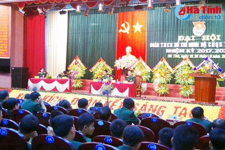 Doan Thanh nien Bo CHQS tinh Ha Tinh dai hoi nhiem ky 2017 – 2022 - Anh 1