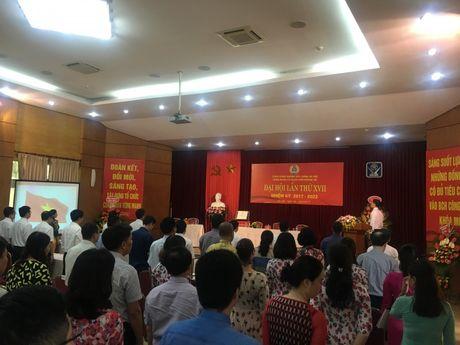 Nganh xay dung Ha Noi: Dai hoi diem cong doan co so - Anh 2