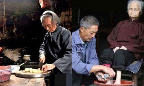 Me nau com mung sinh nhat minh 70 tuoi nhung khong dua con nao ve an - Anh 1