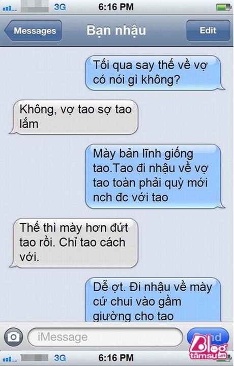 Dang lam bong vo nhan tin 'Chong oi, em co bau voi anh Minh roi! - Anh 6