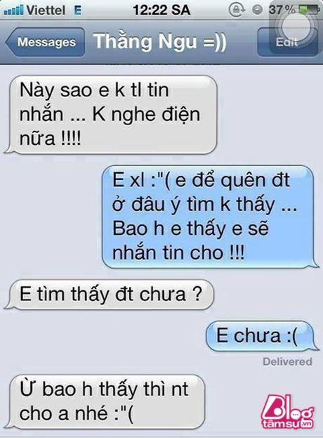 Dang lam bong vo nhan tin 'Chong oi, em co bau voi anh Minh roi! - Anh 9