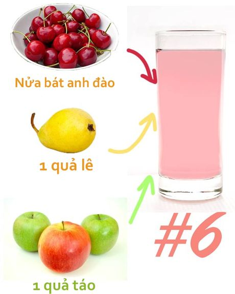 Cach pha 7 loai nuoc detox giam can tot nhat hien nay - Anh 6