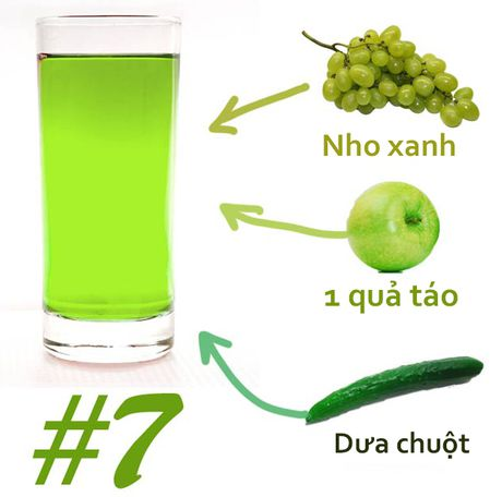 Cach pha 7 loai nuoc detox giam can tot nhat hien nay - Anh 7