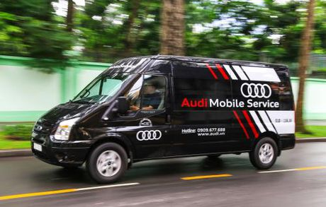 Audi chinh thuc ra mat dich vu luu dong phuc vu APEC 2017 - Anh 1