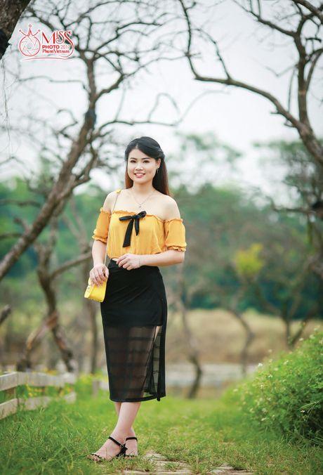 Thi sinh Miss Photo 2017: Ly Thi Hieu - Anh 4