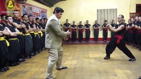Chuong mon Nam Huynh Dao moi vo su phai Vinh Xuan Nam Anh den Viet Nam - Anh 1