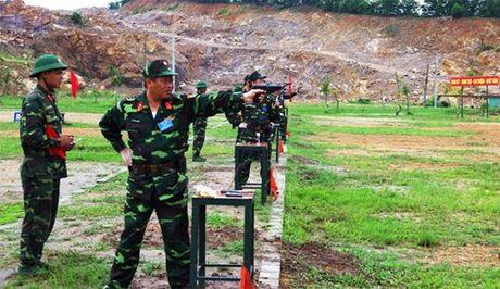 Quan khu 3: Kiem tra chi huy truong, chinh uy Bo CHQS cac tinh, thanh pho. - Anh 1