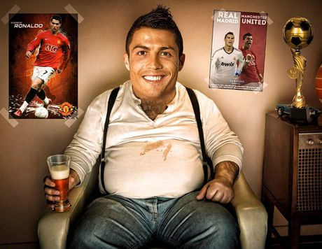 Doi bong hang 3 Duc dung chieu doc moi goi Ronaldo - Anh 1