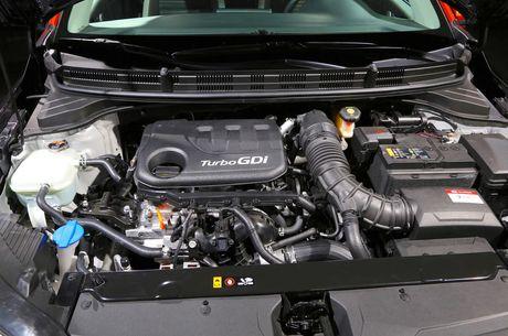 Kia Stonic - doi thu nang ky cua Ford Ecosport ra mat - Anh 4