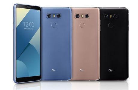 LG G6+ chinh thuc lo dien voi 6GB RAM, tai nghe B&O - Anh 1