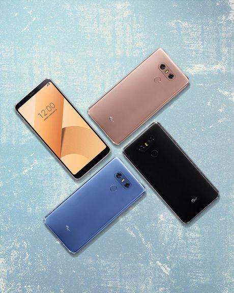 LG G6+ chinh thuc lo dien voi 6GB RAM, tai nghe B&O - Anh 2
