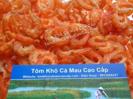 """Tom kho Ca Mau vao """"Top 10 dac san qua tang noi tieng Viet Nam"""" - Anh 1"""
