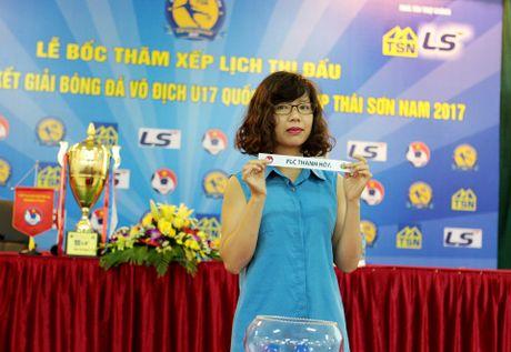 Vong chung ket U17 quoc gia vang bong 'ong vua' SLNA - Anh 1