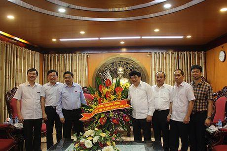 Ong Pham Minh Chinh chuc mung VOV nhan dip 21/6 - Anh 1