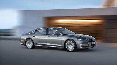 Audi A8 2018 ra mat: Truc co so dai va vo van tien ich hap dan - Anh 12