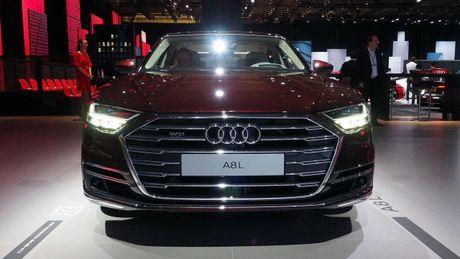 Audi A8 2018 ra mat: Truc co so dai va vo van tien ich hap dan - Anh 2