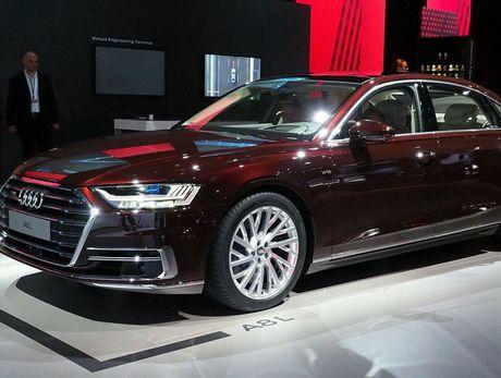 Audi A8 2018 ra mat: Truc co so dai va vo van tien ich hap dan - Anh 3