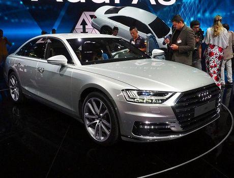 Audi A8 2018 ra mat: Truc co so dai va vo van tien ich hap dan - Anh 5