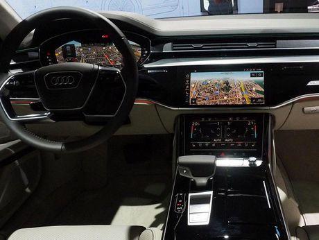 Audi A8 2018 ra mat: Truc co so dai va vo van tien ich hap dan - Anh 8