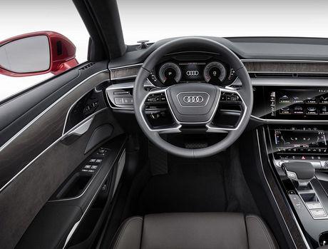 Audi A8 2018 ra mat: Truc co so dai va vo van tien ich hap dan - Anh 9