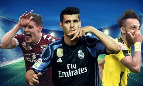 Morata thich den Milan nhung Real khong giam gia - Anh 1