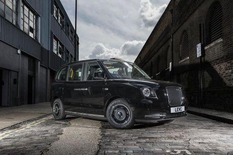 Xe taxi mang tinh bieu tuong cua London duoc 'dien hoa' - Anh 1