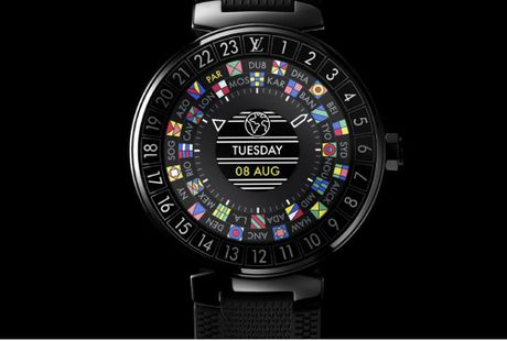Louis Vuitton quyet canh tranh truc tiep voi Apple tren san choi smartwatch - Anh 1