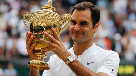 Wimbledon: Federer, ky luc va su vi dai cua tay vot Thuy Si - Anh 1
