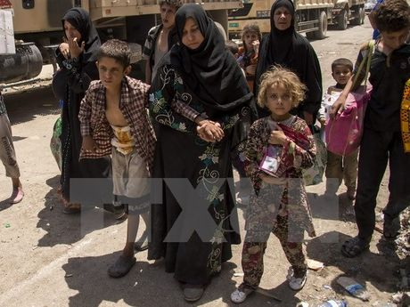 Iraq tieu diet 47 phien quan IS trong cac cuoc khong kich o Mosul - Anh 1