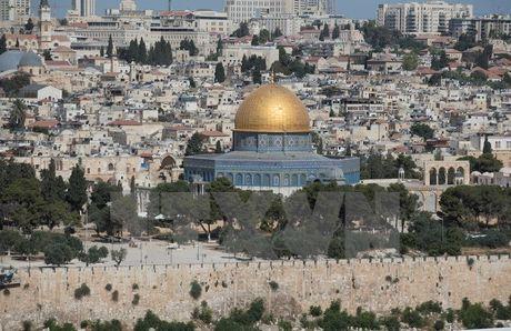 AL chi trich viec Israel ngan nguoi Palestine vao den tho al-Aqsa - Anh 1