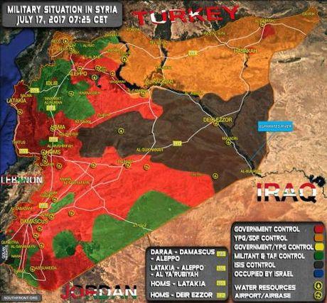 Quan Assad thua lien tiep, loi hen voi Deir Ezzor - Anh 1