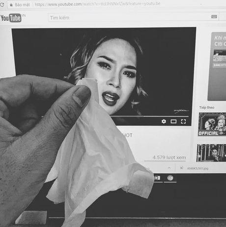My Tam bi che anh hai huoc du khoc nuc no trong MV moi - Anh 7