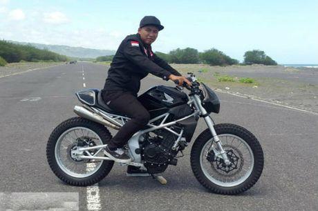 Choang ngop truoc Honda CBR250rr ban do 'ong bap cay' - Anh 1