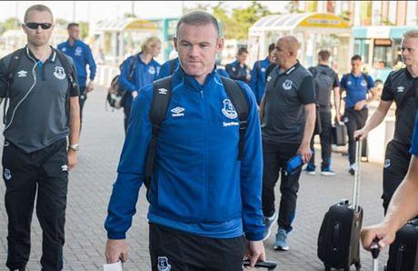Rooney va dan sao Everton met moi di chuyen toi Ha Lan - Anh 2