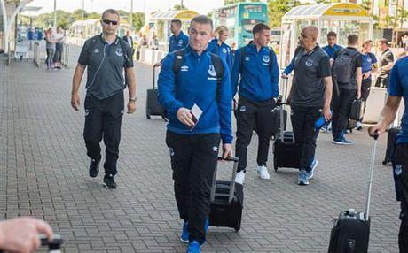 Rooney va dan sao Everton met moi di chuyen toi Ha Lan - Anh 3