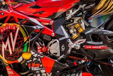 Sieu moto MV Agusta F4RR gia 1,3 ty doc nhat VN - Anh 7