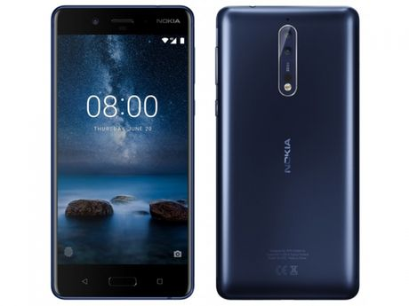 Ro ri anh thiet ke va cau hinh chi tiet cua Nokia 8 - Anh 1
