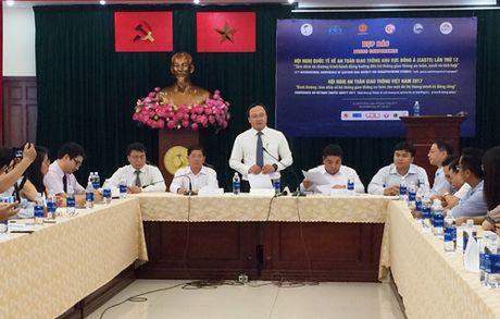 Ban nhieu van de nong tai Hoi nghi quoc te ATGT khu vuc Dong A lan thu 12 - Anh 1