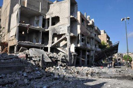 Danh bom lien tiep nham vao chien binh Kurd o Syria - Anh 1