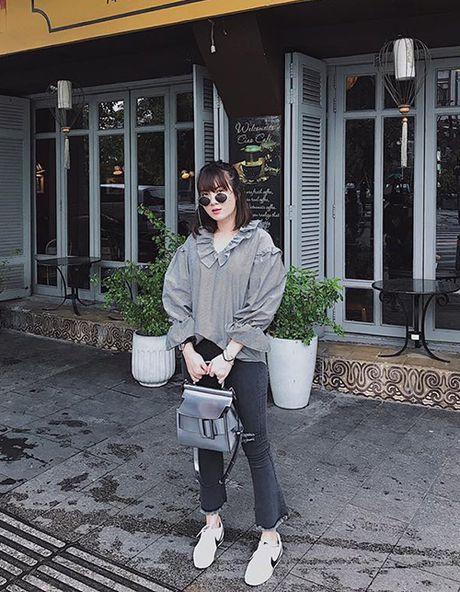 Street style 'khong co gi de che' cua sao Viet tuan thoi tiet that thuong - Anh 4