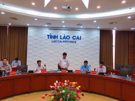 Lao Cai: Hop hang tuan cung cap thong tin cho bao chi - Anh 1