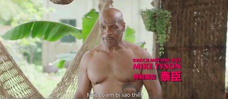 Mike Tyson, Tran Bao Son gay to mo khi xuat hien ben dan minh tinh chau A - Anh 5