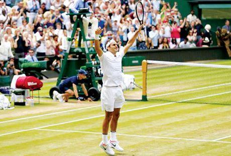 Lap ky luc vo dich, Federer ap sat vi tri so 1 - Anh 1