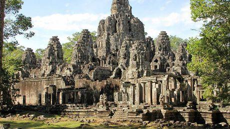 Angkor - Quan the kien truc doc dao cua Campuchia - Anh 3