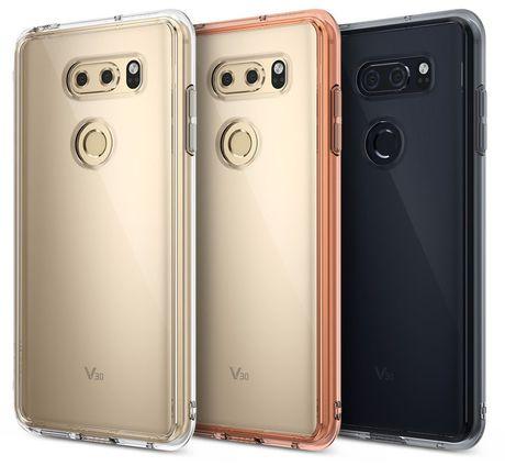 LG V30 lan dau lo anh mat lung - Anh 1