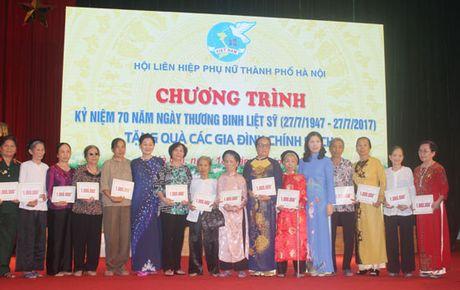 Phu nu Ha Noi chung tay den on dap nghia - Anh 2