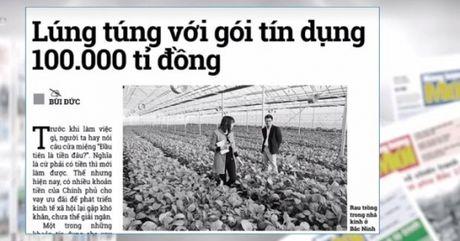 Diem bao ngay 18/7/2017: Lung tung voi goi tin dung 100.000 ti dong - Anh 1